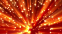 Red Moving Strong Shine Stars on Ramp Background Loop 2 Stock Footage