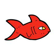 Stock Illustration of comic cartoon fish
