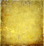 Grunge sepia abstract background with numbers - stock illustration