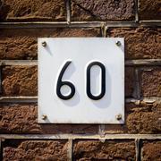 Number 60 Stock Photos