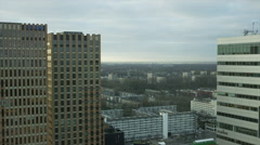 Skyline Amsterdam 1 Stock Footage