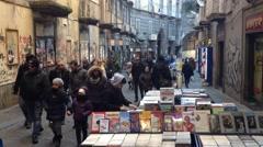 Port'Alba - Naples Italy Stock Footage
