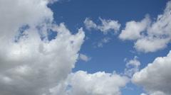 Cloud Timelapse Mid Shot - stock footage