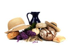 attributes for a lovely picnic - stock photo