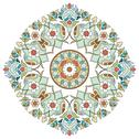 Stock Illustration of artistic ottoman pattern series two