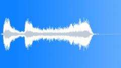 Brass crescendo anticipation Sound Effect