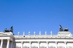 Austrian Parliament Building, Vienna Stock Photos