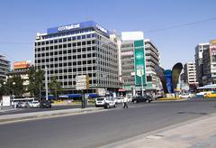 Kizilay square , city center of Ankara Stock Photos