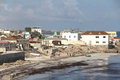 Mogadishu, Somalia capital city of Somalia - stock photo