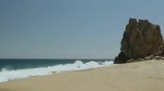 Lover's Beach, Los Cabos Stock Footage