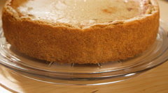 How to make vegan Cheesecake or Tofu cake take part 1 of 7 - stock footage