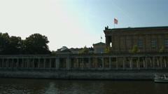 Museumsinsel Berlin Stock Footage