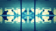 Lights Library office   background  Abstract  Kaleidoscope 1920x1080 Stock Footage
