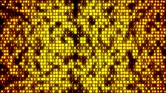 4K Abstract Golden Marquee Background Stock Footage