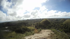 The Chocolate Hills Stock Footage