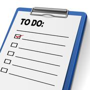 to do list clipboard - stock illustration