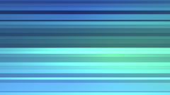 3D Looping Background - Folding blue polygon strips Stock Footage