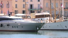 ST TROPEZ BOATS Stock Footage
