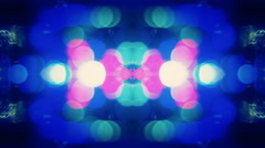 Background  Abstract  kaleidoscope Design retro Building Lights  1920x1080 Stock Footage
