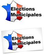 Municipal elections Stock Illustration