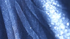 Abstract silver cloth Texture Stock Footage