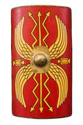 Roman shield Stock Photos