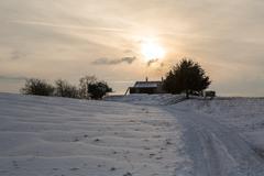 Winter Landschaft Stock Photos