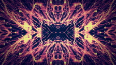 Retro Building Lights background  Abstract  kaleidoscope 1920x1080 - stock footage