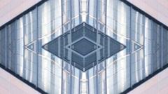 Architecture  retro Building Lights background kaleidoscope Stock Footage