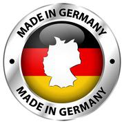 Made in germany Stock Illustration