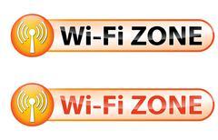 Wi-fi zone Stock Illustration
