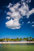 View of the beach in key west, florida. Stock Photos