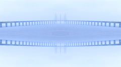 Sea And Bridge Design retro  Lights background  Abstract  kaleidoscope - stock footage