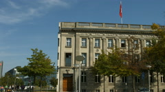 Swiss embassy in Berlin - stock footage