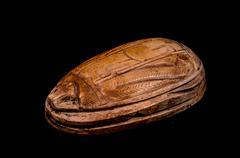 Stock Photo of ritual egyptian scarab