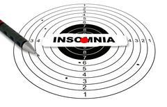 insomnia - stock illustration