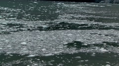 Sea Ice Flow Alaska Stock Footage
