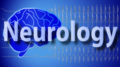 neurology background - stock illustration