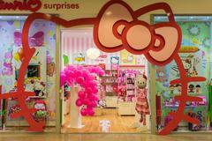 Hello Kitty Store Stock Photos