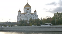 RUSSIA  MOSCOW monument Stock Footage