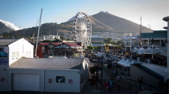 V&A Waterfront, Cape Town, South Africa. Time-lapse HD Stock Footage