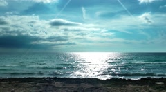 Seaside in Sunny Day Stock Footage