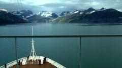 Alaska Ships POV Timelapse Stock Footage
