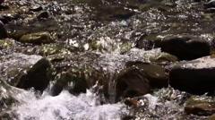 Water flow in New Zealand Stock Footage