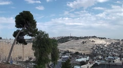 Panorama of Jerusalem. Stock Footage