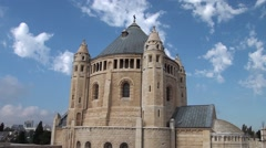 The Armenian church is in Jerusalem. Stock Footage