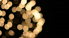 Beautiful bokeh of fireworks display - stock footage