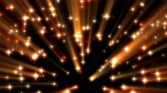 4K Red Moving Shine Stars on Black Background Loop 1 Stock Footage