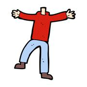 Stock Illustration of comic cartoon male gesturing body (mix and match comic cartoons or add own ph
