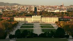 TIME LAPSE Castle Schoenbrunn – zoom Stock Footage
